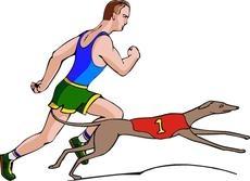 Собаки против людей на Олимпийских играх