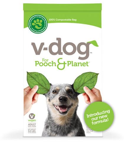 Вегетарианский корм для собак, написано, что полностью удовлетворяет пищевые потребности собак