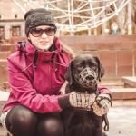 Обращение Анастасии Жих - незрячей студентки с собакой-поводырем из г.Петрозаводска